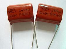 10pcs 630V 474 J 0.47uf 470nf 470000pf P20 CBB21 CBB metal film capacitor