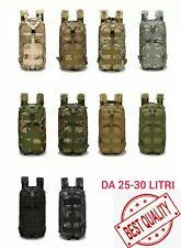 ZAINO TATTICO 25-30L ESCURSIONISMO TREKKING MILITARE SOFTAIR CAMPEGGIO (SP ITA)