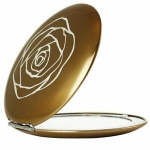 LATEST IN BEAUTY GOLD COMPACT MIRROR BRAND NEW
