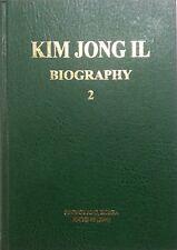 KIM JONG IL BIOGRAPHY VOL 3 Rare Official North Korea published Book DPRK KDVR