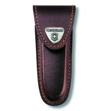 Victorinox 40533 Brown Leather Pouch - 2 Layer