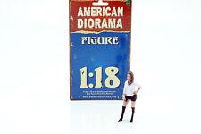 Partygängerin Figur #7 1:18 American Diorama