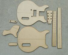 Les Paul Jr Double Cut Guitar Template Set