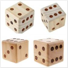 Outdoor Lawn Wooden Yard Dice Family Activity Party Toys Set Table Game P3