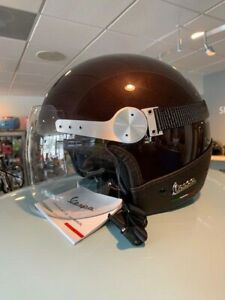 VESPA GTS REPLICA HELMET EXPRESSO BROWN XL or LG NEW