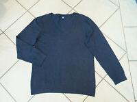 CECIL  Pullover    Gr. L    Gr. DE 52     jeansblau   blau meliert     NEUWERTIG