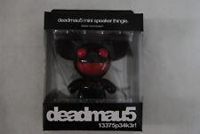 DEADMAU5 BLACK & RED MINI SPEAKER THINGIE NEW OFFICIAL MP3 iPOD PHONE RARE