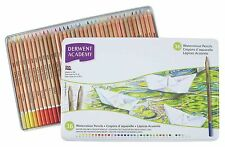 Derwent Academy Crayons aquarelle-couleur EAU soluble colorants - 36 tin
