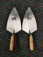 "Ox Tools Trade Series 11"" Philadelphia Brick Trowel - 2 Pack"
