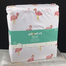Pink Flamingos Twin Sheet Set by Pillowfort