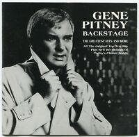[BEE GEES COVER] GENE PITNEY~BACKSTAGE: GREATEST HITS & MORE~1990 UK 20-TRACK CD