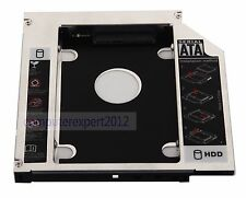 New SATA 12.7mm HDD SSD Hard Drive Caddy Adapter Optical Bay replace HP AK868AA