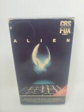 Vintage VHS Alien 1984 CBS FOX Horror SciFi Ridley Scott Sigourney Weaver