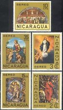 Nicaragua 1968 Religious Art/Paintings/Artists/People 5v set (n42459)