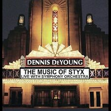 Music of Styx: Live with Symphony Orchestra  Dennis DeYoung CD, Oct-2004, SEALED