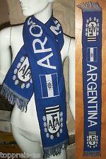 SCHAL ARGENTINIEN FANSCHAL FUßBALL WM FAN SCHAL FAHNE FLAGGE ARGENTINA BANDERA