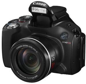 Canon PowerShot SX40 HS  mit Zubehörpaket *****