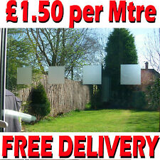 3xMtr FROSTED GLASS EFFECT SAFETY WINDOW MANIFESTATIONS FILM SQUARES 50MM