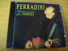 MARCO FERRADINI RICOMINCIO DA...TEOREMA  CD MINT--