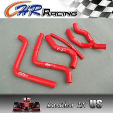 FOR Honda CR125 CR 125 CR125R 2000 2001 2002 00 01 02 silicone radiator hose red