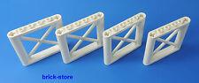 LEGO FERROVIA (7937) 1x6x5 Pilastri ponte / Pannelli/ 4 Pezzi