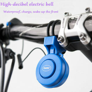 Bicycle Bike Bell Electric Horn Charging Super Loud Cyling Riding Equipment