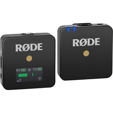 Rode Wireless GO Ultra Compact Digital Wireless Microphone System - Black