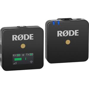 Rode Wireless GO Ultra Compact Digital Wireless Microphone System - Black