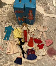 Vintage  Barbie Skipper Carrying Doll Case with Skipper doll and clothes.