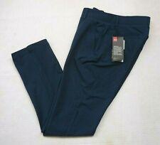 Under Armour Golf Women Sz 4 Links Stretch Blue Golf Pants 1272344-487 MSRP $85