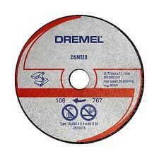 Dremel METAL MAX CUT-OFF SAW WHEEL DSM510 77mm 3Pcs,Abrasive, 60 Grit *USA Brand