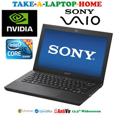 "Sony Vaio i5 Gaming Laptop Nvidia Geforce GT Graphics 13.3"" Windows10 HDMI WiFi"
