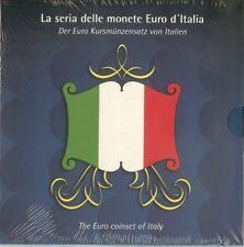 Italie euro set 2002, in mapje