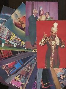Lot of 13 Magic Magician Illusionist Sorcar Real Photo Post Cards