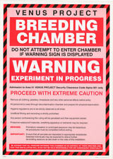 Poster :Sign: Venus Project - Breeding Chamber - Free Ship #Fpo422 Rc28 J