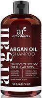 Art Naturals Organic Daily Argan Oil Shampoo 473ml Best Moisturizing
