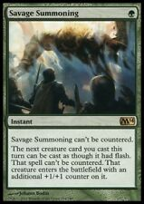 MTG 1x SAVAGE SUMMONING - M14 *Top Rare NM*