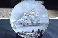 VINTAGE THE GREAT CLIPPER SHIPS COLLECTORS PLATE 'MARCOPOLO' C1981 by L.Pearce