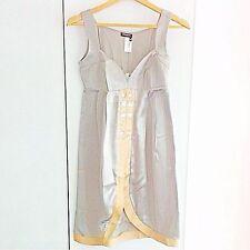 BNWT Asos Miss Sixty Cutaway Silk Hatty Dress