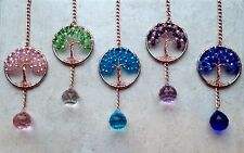 Crystal Rear View Mirror Car Charm Sun Catchers, Car Window Ornament,Feng Shui