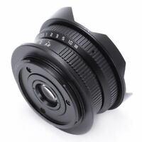 8mm F3.8 Manual Wide Angle Fisheye Lens for Olympus Panasonic M43 MFT OMD E X5C9
