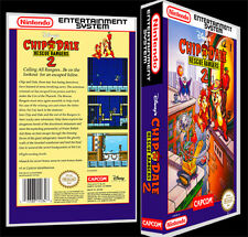 Chip n Dale Rescue Rangers 2 - NES Reproduction Art Case/Box No Game.