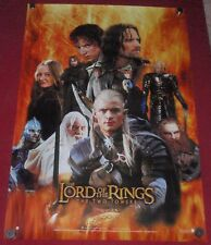 Lord of the Rings: The Two Towers Original Poster Print 27x39 NEW 2002  L.O.T.R.