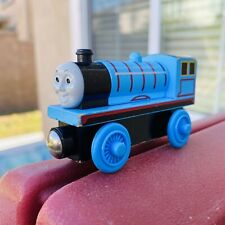 Edward of Thomas & Friends Wooden Railway Blue Train no Tender 2 Wheeler