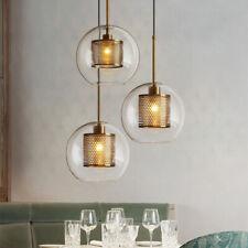 Glass Pendant Light Home Ceiling Lights Bar Lamp Kitchen LED Chandelier Lighting