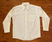 "Arrow Bradstreet White Long Sleeve Dress Shirt Men's 16.5"" 32/33"" Made In USA"