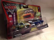 *NIP* Disney Cars 2 Diecast Movie Moments DARRELL CARTRIP & BRENT MUSTANGBURGER