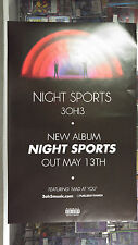 Music Poster Promo 3OH!3 - Night Sports - Double Sided