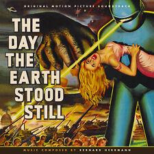 DAY THE EARTH STOOD STILL 1951 Bernard Herrmann CD LA-LA LAND Score SOUNDTRACK