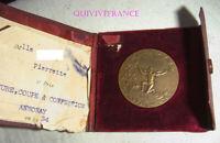 MED8558 - MEDAILLE SOCIETE ENSEIGNEMENT PROFESSIONNEL DU RHONE 1934 COUTURE